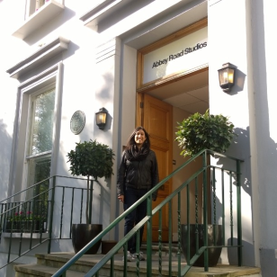 Recording at Abbey Road studios with the choir was a dream come true.